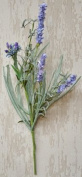 Lakeside Lavender Pick Branch Realistic Blossoms Country Primitive Floral Décor