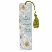 Bookmark - She Is Clothed In Strength And Dignity w/Tassel