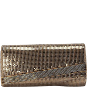 Whiting and Davis Beaded Edge Clutch