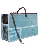 Dahlia Women Patented Handbag Purse Organiser Insert - Version 2 Tidy Blue