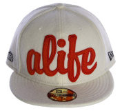 NEW ERA 59FIFTY Alife Ballout Fitted Hat Sz 7 3/8 White