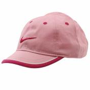 Nike Infant Perfect Pink Swoosh Logo Adjustable Hat Baseball Cap Sz 12/24 Months