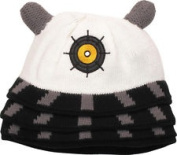 Doctor Who White Dalek Beanie Hat Adult One Size Fits Most