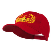 Air Assault Air Force Badge Outline Embroidered Cap - Red OSFM