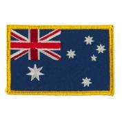 Asia Flag Embroidered Patches - Australia OSFM