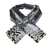 Laurel Burch Scarfs-Polka Dot Cats Classic