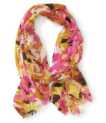 Aeropostale Womens Bright Abstract Scarf 901 Classic
