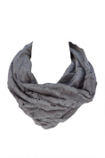 Religion Unisex Cut Out Snood Scarf One Size Grey Marl