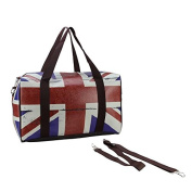 41cm British Flag Travel Bag with Handles and Crossbody Strap