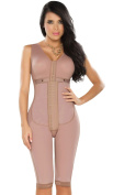 DPrada 11052 Fajas Colombianas Post Operatorias Post Surgery Girdle Body Shaper - Cocoa-Optic - S