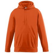 Augusta Sportswear BOYS' WICKING FLEECE HOODED SWEATSHIRT M Orange