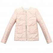 Richie House Little Girls' Padding Jacket with Flower Printing 3