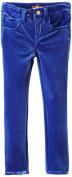 7 For All Mankind Little Girls' Little Girl Skinny Pant, Sapphire, 4