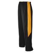 Augusta Sportswear BOYS' MEDALIST PANT L Black/Gold