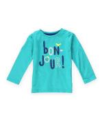 Gymboree Girls Bon Jour Embellished T-Shirt 346 18-24 mos
