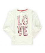 Gymboree Girls Words Of Love Embellished T-Shirt 001 5