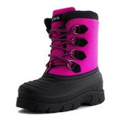 Rain 36K Lined Lace Up Winter Snow Boots Fuchsia,Fuchsia,11