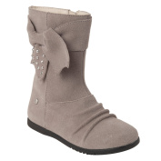 """Momo Grow Girls """"Ellie"""" Leather Boots"""