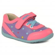 Momo Baby Girls' Sneaker Shoes - Olivia Polka Dot