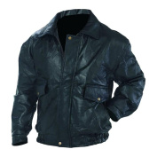 Napoline Roman Rock Design Genuine Leather Jacket GFEUCTM black One size