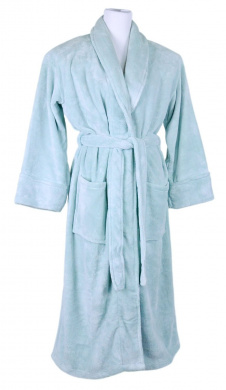 Bedford Cottage Pure Comfort Spa Robe, Celadon