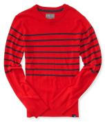 Aeropostale Mens Striped Knit Pullover Sweater 620 L