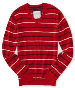 Aeropostale Mens Stripe A87 Knit Sweater 629 XL