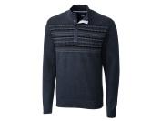 Cutter & Buck Big - Tall Button Mock Sweater