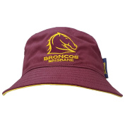 Lenco Adult NRL Brisbane Broncos Bucket Hat
