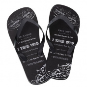 Lillian Rose Men Flip Flops, Small/Size 10