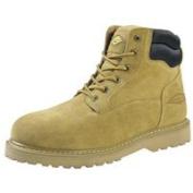 Work Boot 15cm Suede Lthr 10