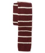 Aeropostale Mens Knit Striped Necktie 920 Long