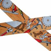 CTM® Mens Big and Tall Elastic 5.1cm Wide Clip-End Carpenter Work Suspenders, Brown