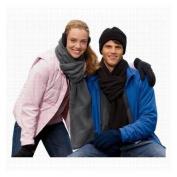 Living Health Products 35_DC_40105 Eco Fleece Scarf - Black