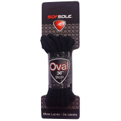 Sof Sole Oval Black Laces
