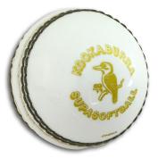 Kookaburra Cricket Ball Supasoft Jnr White