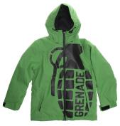 Grenade Exploiter Snowboard Jacket Snowboard Jacket Green Youth Sz L
