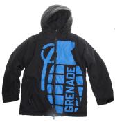 Grenade Exploiter Snowboard Jacket Snowboard Jacket Black Youth Sz M
