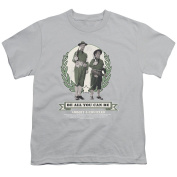Abbott & Costello Be All You Can Be Child's T-Shirt (8+yo.) XL / Grey