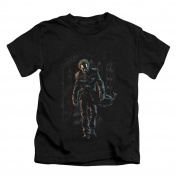 Batman Baby-boys Joker Leaves Arkham Childrens T-shirt 7 Boy Black