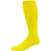 Augusta Sportswear KIDS' ELITE MULTI-SPORT SOCK 7-9 Power Yellow