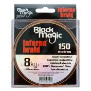 Black Magic Inferno Braid 8kg+ 150m spool