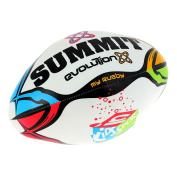 Summit Kids in Sport Soft Rugby Ball