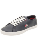 Lacoste Youth Marcel HTB Sneakers in Dark Blue/Red 3 M US
