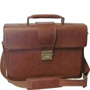 AmeriLeather Two-Tone Charisma Laptop Briefcase