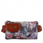 Nicole Lee New York Print Fanny Pack