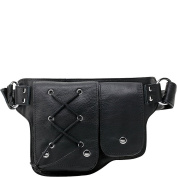 Vicenzo Leather Yvette Leather Waist Pack