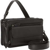 Mancini Leather Goods Compact Unisex Bag