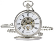 Charles-Hubert, Paris 3973-W Classic Collection Analogue Display Mechanical Hand Wind Pocket Watch
