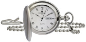 Charles-Hubert, Paris 3974-W Classic Collection Analogue Display Japanese Quartz Pocket Watch